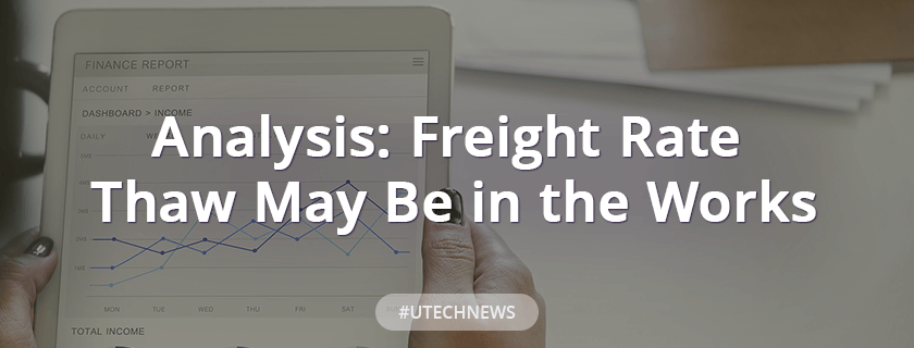Analysis: Freight Rate Thaw May Be in the Works