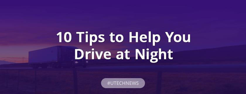 10 tips to help you drive at night