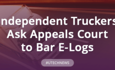Independent Truckers Ask Appeals Court to Bar E-Logs