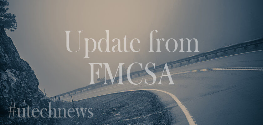 about news from FMCSA by utech