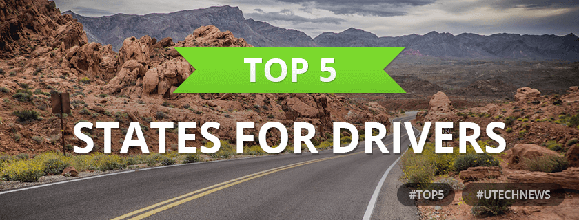 Top5 states for drivers utech news
