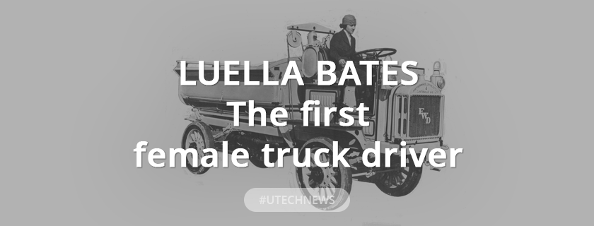 The first female truck driver